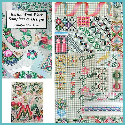 New Book * Berlin Wool Work Samplers & Designs * Carolyn Meacham