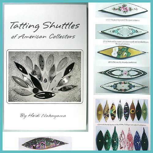 Excellent Book on Antique Tatting Shuttles * by Heidi Nakayama