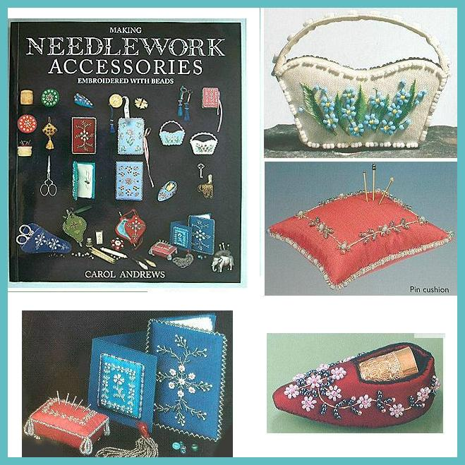 FABULOUS Stitchery Book * Making Needlework Accessories by Carol